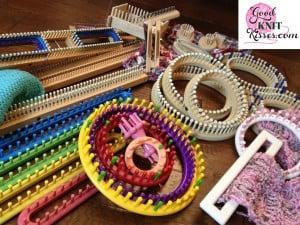 loom knitting videos